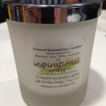 Natural Scented Soy Candle - Singapore Orchid - Inspirational Candles
