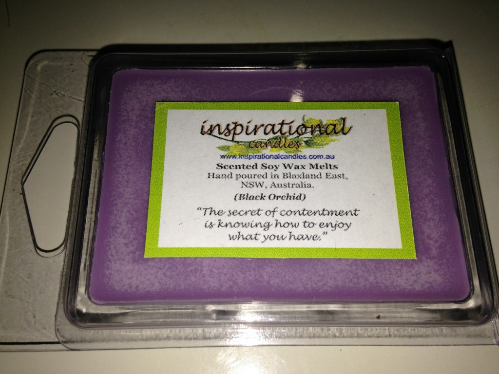 Black Orchid Soy Wax Melts 80gm